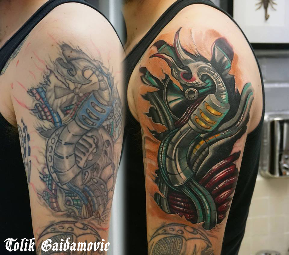 Tolik Gaidamovic - done @ Inked Moose Tattoo Art Studio